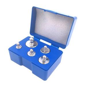 5pcs poids de calibrage de précision mis mini échelle de poids numérique de précision 50g 2x20g 10g 5g grammes pour mini balance