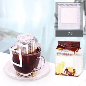 Borsa 50Pcs / lot Drip Coffee Filter attaccatura portatile dell'orecchio di stile di caffè filtri di carta Studio Viaggi Brew Caffè e tè Strumenti DBC BH2986