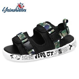 YEINSHAARS Sandali da uomo di alta qualità Sandali da spiaggia da uomo di alta qualità Scarpe maschili outdoor Scarpe casual da uomo Pantofole da uomo