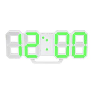 Многофункциональный цифровой светодиодный настенные часы Дисплей температуры Часы Таймер Vintage Home Decor Таймер настенные часы