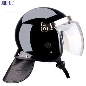 Internationaler Standard Special Riot Helmet Mask Arbeitsschutz Schutzhelme Wachmann Patrol Head Protective Hard Hat