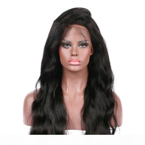 TOP Brazilian Human Hair Wigs for Black Women Brazilian Body Wave Pre Plucked Natural Hairline Lace Front Wigs With Baby Hair FZP34