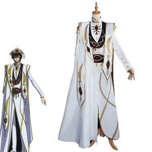 Lelouch Lamperou CODE GEASS Cosplay Lelouch of the Rebellion Emperor Ver. Costume Uniforme Anime CODE GEASS Cosplay