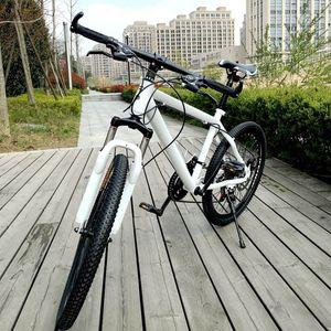 Spedizione gratuita Materiale Acciaio 21 Velocità 24 pollici Shifting Bianco Ciclismo Equipment Manufacturer mountain bike