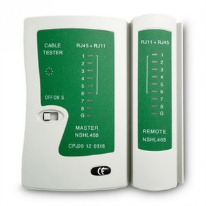 Profesyonel Network Kablo Test Cihazı RJ45 RJ11 UTP LAN Kablo Test Ağ Aracı El Tel Telefon Hattı Dedektör # 17