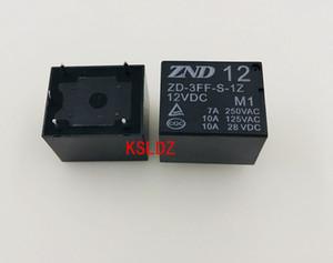 Бесплатная доставка серия (5 частей / серия) оригинальный Новый ZD-3FF-S-1Z-M1-12VDC SRD-12VDC-SL-C 7А 5Pins силовых реле