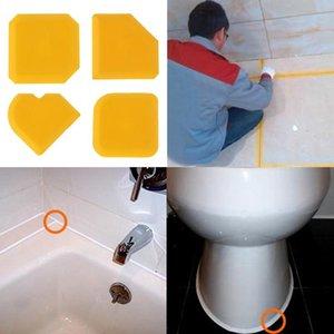 4 pezzi di tenuta strumento raschietto Kit giunti sigillante silicone Caulk Remover sigillante rifinitura con utensile di finitura Caulking Kit