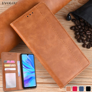 Mobile Phone Accessories Mobile Phone Cases Covers Retro Magnetic Flip Leather Case for Huawei Honor 20i 10i 10 Lite 5 Y6 Y7