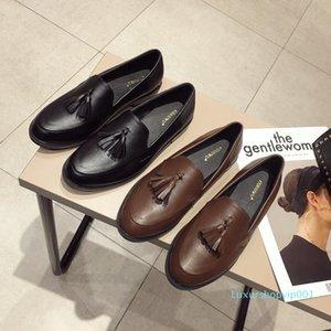 Pretty2019 Angleterre Glands école Vent d'origine Su douce Single Girls Chaussures Femme 361-2