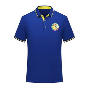 Дизайнер Сенегал национальная сборная летняя хлопчатобумажная рубашка поло Мужчины с коротким рукавом отворотом футбол мужчины поло рубашка тренировочный Джерси мужские Поло футболка