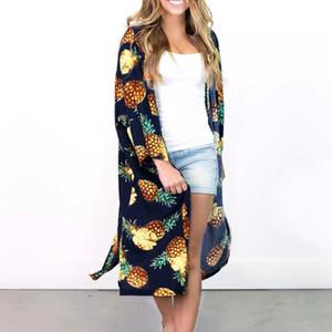 Autu Stivals Classics Hot-Kleidungs-Hemd Damen-Bekleidung Long Top-Frauen-Bluse Mode Weiblichen Womens Top Print Fall