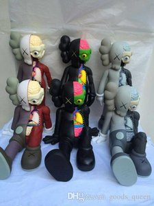 2019 16 Inch KAWS Dissected Companion original fake action figures toy for children Kaws toy 37CM 001