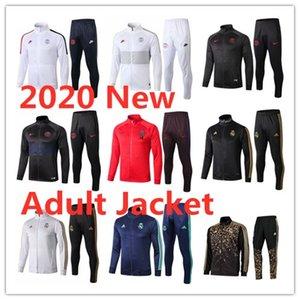 19 20 Реал Мадрид куртки мужские костюмы 2019 20 Париж футбол Survetement MBAPPE Hazard Модрич ZippeR спортивный костюм футбол