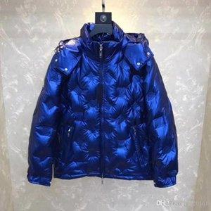 2020 Hot vendas Super boa qualidade Mens Designer jaquetas quente grossa com capuz Moda impressão Casual Jacket Inverno Down Jacket Europa Tamanho