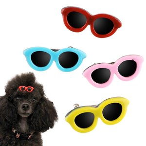 NICEYARD 1pc Puppy Dog Bows Hair Clips Pet Cute Sunglasses Hairpins Cats Dogs Bows Headdress Pet Grooming Accessories