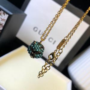 Collar de la joyería del diseñador del nuevo de Iron Man corazón de cristal colgante redondo regalo de plata Moda