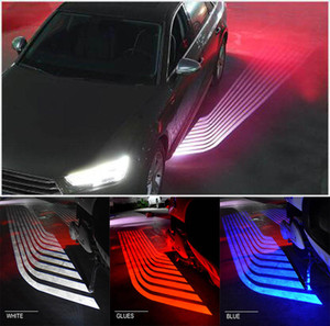 LED Auto Angel Wings Lichter Tür Licht Motorrad Lichter LED Willkommen SUV 12V 24V Weiß Rot Blau Gelb Projektor Ghost Lampe