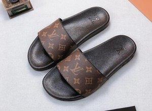 Lastest самого нового R8 реальная кожа женских мужской флип-флоп сандалии платформы тапочки случайные плоские туфли женские сандалии тапочки рыболова обувь