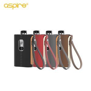 Newest Aspire Cloudflask Kit 2000mAh with Aspire Cloudflask Pod 5.5ml Mesh Coil 0.25ohm 810 drip tip Vape Kit 100% Original
