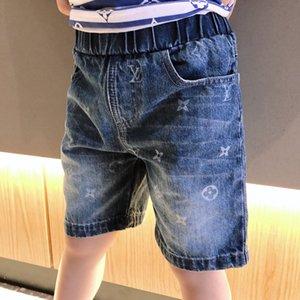 Kinder Junge Hose Fashion Sommer Jeans Kinder-T-Shirt Hosen-Baby-Denim-Jean-Baby-Kinderkleidung