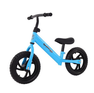 Fabrika doğrudan çocuk denge araba 3-6 yaşında bebek hiçbir pedalı iki tekerlekli scooter toptan perakende Bisikletleri Ride-Ons