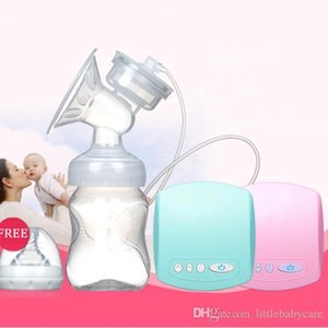 Electric Automatic Breast Pump With Milk Bottle Infant USB BPA free Powerful Breast Pumps Baby Feeding Manual Breast Pump