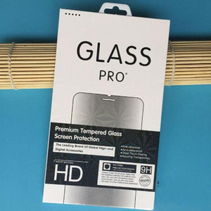 Fashion Retail Box Package Paper+Plastic Box Packing For Premium Tempered Glass Screen Protector Film+Hang Hole 2019 New Hot Bag