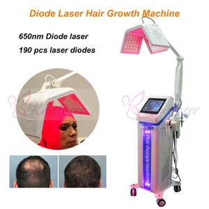 قوي 650nm diode laser hair growth machinanti-hair loss hair loss rerowth Spa-use machine Good effect laser rerowth machine
