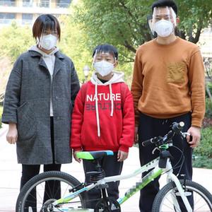 Escudo facial anti spray máscara protectora Caps Borrar los hijos adultos de la cara llena de la cubierta exterior visera de Accesorios DW5213
