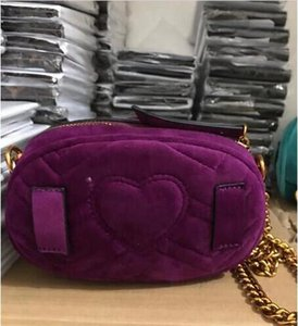 2020new style Die beliebtesten Luxus-Handtaschen Männer Frauen Tasche Designer Mini Messenger Bags feminina Samt Mädchen Gürteltasche mit 2216
