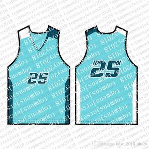 Top Mens Stickerei Logos Jersey Freies Verschiffen billig nennen Großhandel Jede beliebige Anzahl Custom Basketball Jerseys Djak