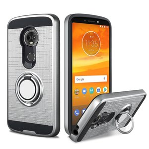 Halka araç Telefonu tutucu Kılıf manyetik Kickstand kapak İphone x 8 7 artı 6 S Samsung Galaxy S8 S9 artı J7 2017 A6 2018 j7 yıldız