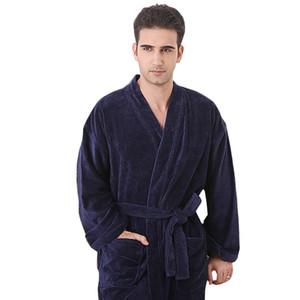 none collar bathrobe man XXXL very big plus size terry cotton no collor bathrobe