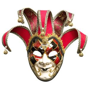 Sparkle Masquerade Venetian Mask Праздничная вечеринка Унисекс Модные маски Личность мужчины Полнолицевая маска Праздничные атрибуты
