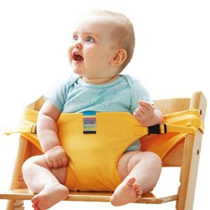 Baby Chair Portable Infant Seat Product Dining Lunch Chair Seat Safety Belt Feeding High Harness Babychair