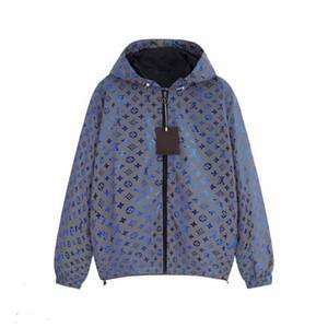 Herren Damen Jacke klassischer Frühling Sports Marken-Designer-Jacke Reflektierende Jacke Details perfekte Arbeit Elastic Soft-Außen ReiseHoodie