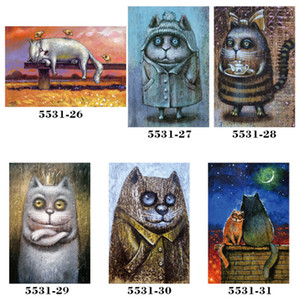 New 20*30cm Lovely animals Cat Metal Tin Signs Vintage Posters Metal Plaque Club Wall Home art metal Painting Store Wall Decor Art Picture