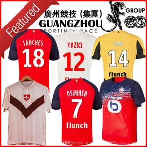 19 20 camisetas de fútbol LOSC Lille 75 aniversario 2019 2020 edición especial Sanches Osimhen maillots BAMBA Yazici hombre camisetas de los niños