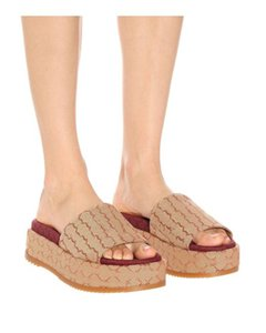 женские открытый носок холст платформы сандалии плоские тапочки 2.5inches Flatform Широкополосная вамп Остроконечные резиновая подошва