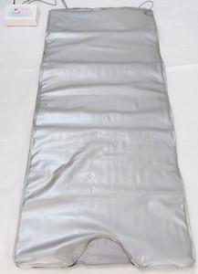 FIR sauna de infrarrojos corporal adelgazante Sauna Manta de calefacción Terapia delgada del bolso Sauna Manta térmica pérdida de peso corporal Detox Máquina para el salón