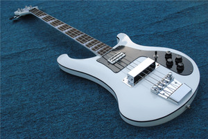 2020 새로운 도착 최고 품질 공장 커스텀 샵 화이트 4003 최고 품질의 Ricken 4 문자열 전기베이스 기타 무료 배송