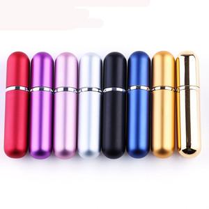 Bottiglia di profumo ricaricabile portatile da 5ml con pompa dello screvino pompa vuota contenitori cosmetici vuoti bottiglia di atomizzatore spray per viaggi