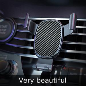 Araba Gravity algılama Oto Grip Tutucu telefonu Sabit Sabit Kelepçe Destek Standı için Evrensel Mobil Telefon tutucu