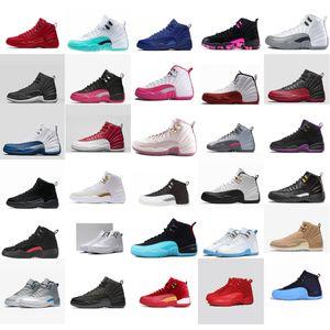الرخيصة النساء الرجعية الأحذية 12S كرة السلة للبيع J12 أكوا أزرق أبيض أحمر جميع الفتيان الفتيات الاطفال الشباب الثاني عشر jumpman حذاء رياضة حذاء مع صندوق