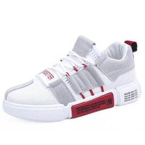 2019 Quatro estações new ins super fogo sapatos masculinos respirável malha sandálias torre edição han sapatos masculinos sapatos casuais size39-44