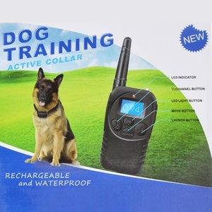 Chien Wodondog Télécommande choc électrique COLLIERS étanche rechargeable Pet Dog Training Collar Vibration / Shock / Tone