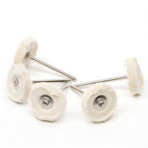 10PCS Cloth Polish Wheel Pad 25mm Polishing Wheel Disc Brush Dremel Grinder Head Drill Rotary Tool Accessory