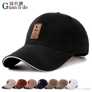 1Piece Baseballmütze Männer justierbare Kappe beiläufige Freizeithut Solid Color Mode Snapback Sommer-Herbst-Hut