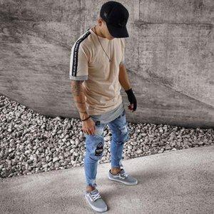 Mens Herbst 19SS Jeans Biker Ripped Frühlings-neue Designer Slim Fit Jean Pants Pantalones