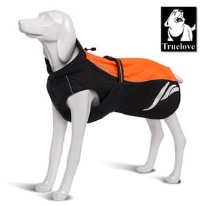 Truelove водонепроницаемый светоотражающая полоса собака пальто жилет открытый прогулки собака плащ нейлон Пэт Куртка для всех погодных пород в наличии